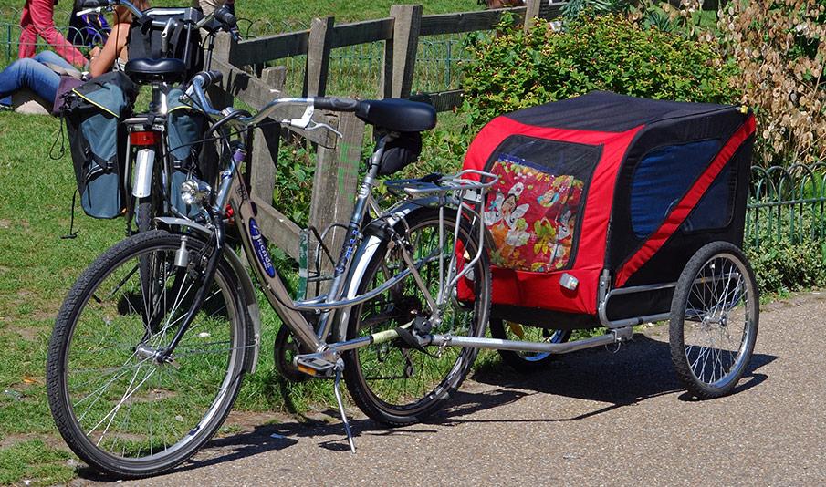 En cykelvagn som gör skillnad