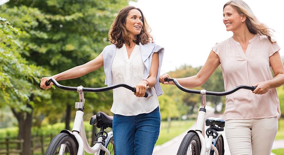 Ingen fördom att damcykel passar kvinnor bättre